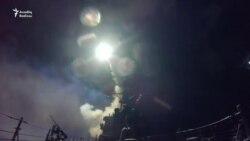 ABŞ Suriyanın hərbi hava bazasını qanadlı raketlərlə dağıtdı