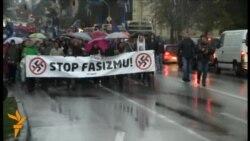 Novi Sad: Antifašistički skup