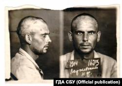 Микола Ларжевський – Праведник народів світу. Фото зроблене під час арешту в 1945 році. ГДА СБУ, фонд 6, справа 74160-фп