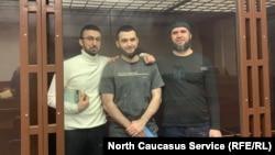 Кемал Тамбиев, Абдулмумин Гаджиев и Абубакар Ризванов