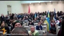 Дніпропетровські євромайданівці зайняли будівлю облради й ініціюють її розпуск