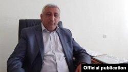 Armenia - Arsen Titanian, the mayor of Odzun village, May 25, 2018.