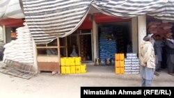 بازار فروش مواد خوراکی در بدخشان
