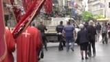 Praznična šetnja raskopanim Beogradom