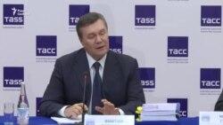 Виктор Янукович ответил на вопросы Радио Свобода