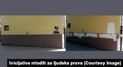 Ndërhyrje në mbishkrimet kushtuar Mlladiqit në Baçka Pallanka