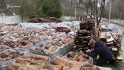 Han sarayınıñ kirametinde «vandalnıñ eldiveni» (video)