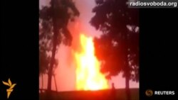 На газопроводі «Уренгой-Помари-Ужгород» стався вибух – МВС