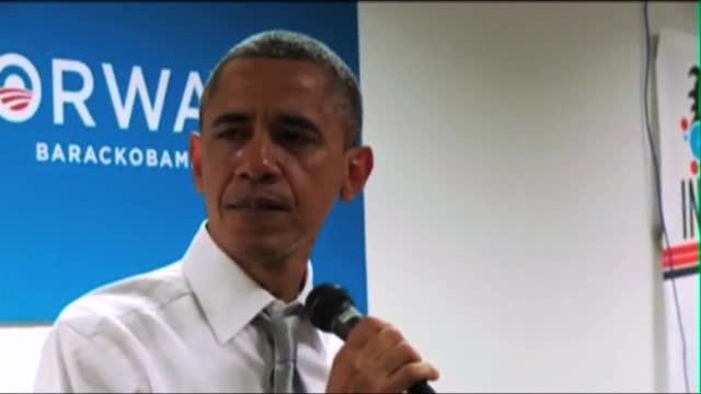 Obama i përlotur falënderon stafin e fushatës