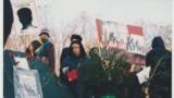 Під час акції протесту «Україна без Кучми», 2000 рік