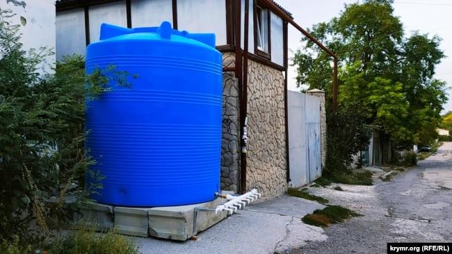 Резервуары для воды в Симферополе, 3 сентября 2020 года