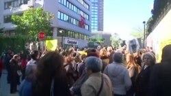İstanbulda jurnalistlərin saxlanmasına etiraz