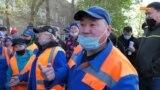 Рабочие столичной компании «Астана Тазалык» требуют повысить зарплаты