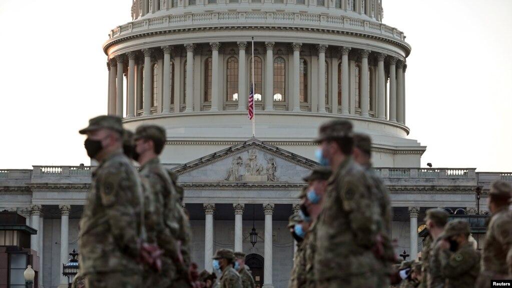 تشدید تدابیر امنیتی در آمریکا در آستانه مراسم تحلیف بایدن