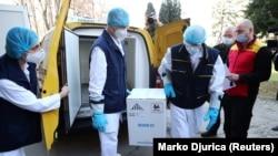 Prva isporuka Fajzerovih vakcina Srbiji (22. decembar)