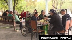 Дом престарелых в кишлаке Батош
