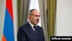 Armenian Prime Minister Nikol Pashinian addresses the nation, November 12, 2020