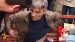 Во время митинга «Учредительного парламента» в Гюмри один из его участников был ранен ножом