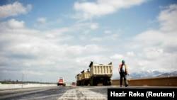 Punimet gjatë ndërtimit të një autostrade në Kosovë. Foto nga arkivi.