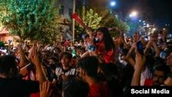 Встреча футбольных фанатов в Тегеране превратилась в антиправительственную акцию протеста