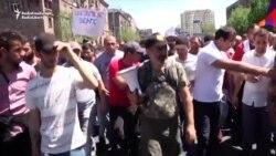 Noi proteste la Erevan