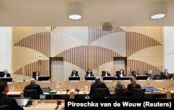 Заседание суда по делу о гибели рейса MH17. 31 августа 2020 года