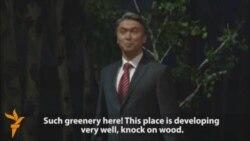 Nazarbaev Speaks To The Trees