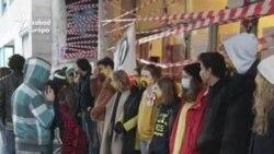 Ismét hallgatói sorfal várta az SZFE kancellárját