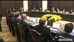 Նոր կառավարության անդրանիկ նիստը վարեց Սերժ Սարգսյանը