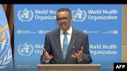 Генералниот директор на Светската здравствена организација, Тедрос Аданом Гебрејесус