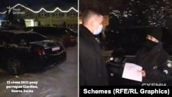 Поліцейські пояснили журналістам, що хазяйка закладу повідомила їм, що бенкетів там немає