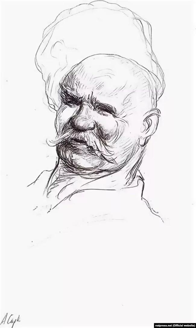 Аркадій Мелік-Саркісян. «Портрет В. Гіляровського»