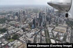 Воздушная экскурсия вокруг Мельбурна