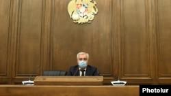 Председатель постоянной комиссии НС по вопросам обороны и безопасности Андраник Кочарян