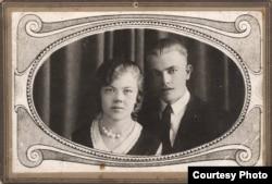 Ууно Ринне с женой Сайми