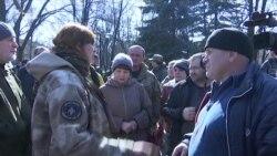 В Авдіївці протестували проти залізничної блокади (відео)