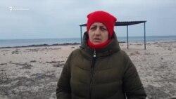 Местные жители о Бакальской косе: «Она уже практически исчезла» (видео)