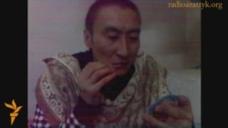 Kazakh Murderer Sews Mouth In Protest