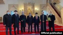 Делегация Татарстана посетила мечеть в Сараево