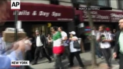 Mob Harasses Iranian Diplomat In New York