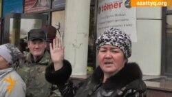 Алматыдағы құрылысшылар наразылығы