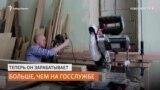Сибирский чиновник ушёл работать столяром