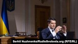 Дмитро Разумков у програмі «Суботнє інтерв'ю»