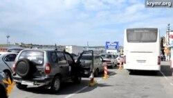 Среди пассажиров на паромной переправе не много обладателей «Единого билета»