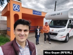 Caravana Europei Libere: Nicu Gușan, Eugenia Crețu și Vasile Botnaru la Corjeuti