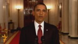 Барак Обама объявляет о смерти Усамы бин Ладена