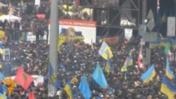 Гирдиҳамоии пуриздиҳом дар маркази Киев