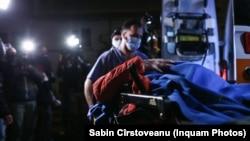 Cinci pacienți au fost transferați după ce a cedat stația de oxigen