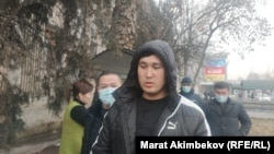 Мунарбек Сайпидинов сотко келген учурда. Ош шаары. 13-январь, 2021-жыл.