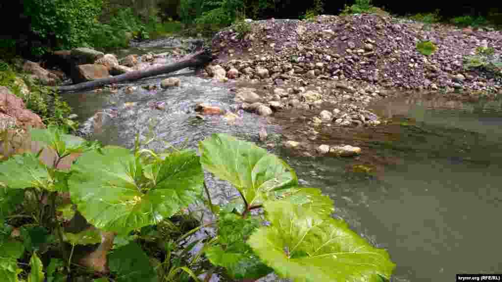 Річка Ангара після грози